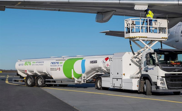 Sustainable aviation fuel introduced at Gatwick Airport in UK