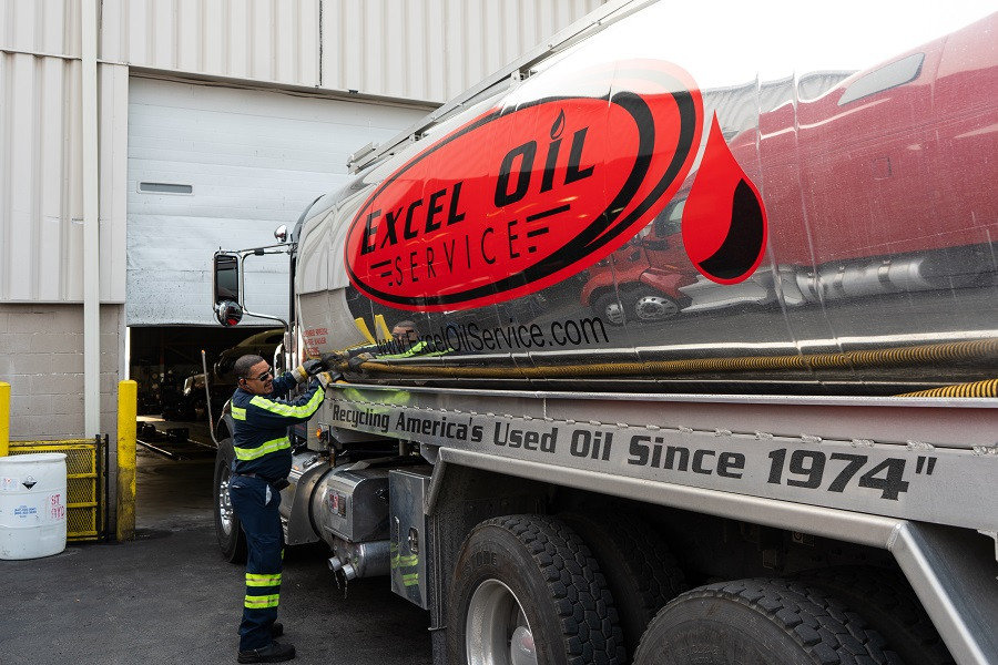 B20 truck, biodiesel use, oil collection