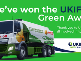 Crown Oil receives UK and Ireland Fuel Distributors Association's 2021 Green Award