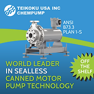 Sealless canned motor pump technology