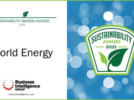 World Energy receives Sustainability Leadership Award