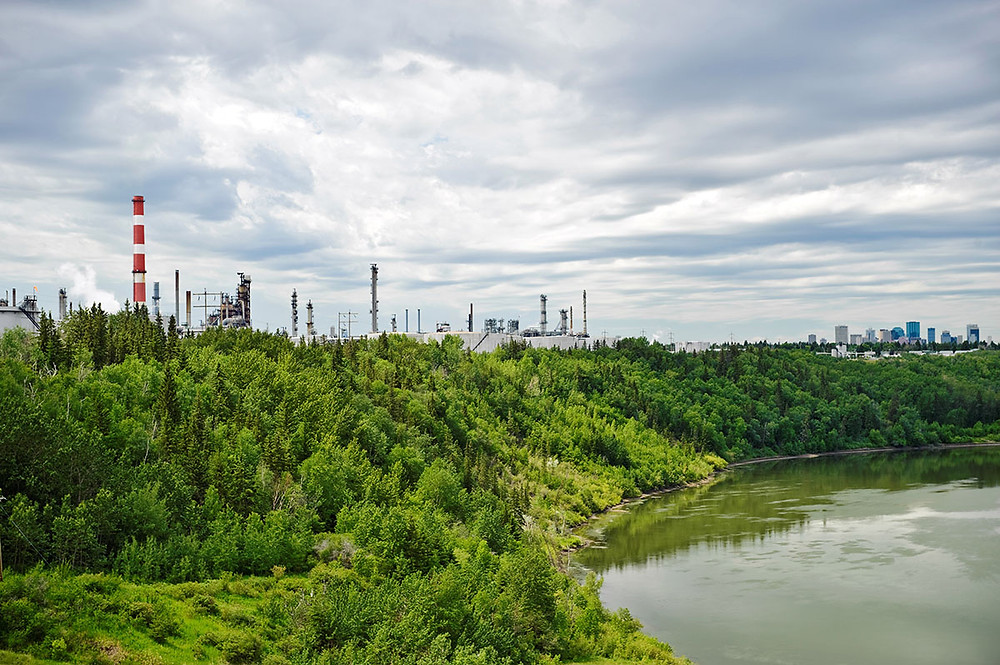 oil refinery to make renewable diesel in Canada