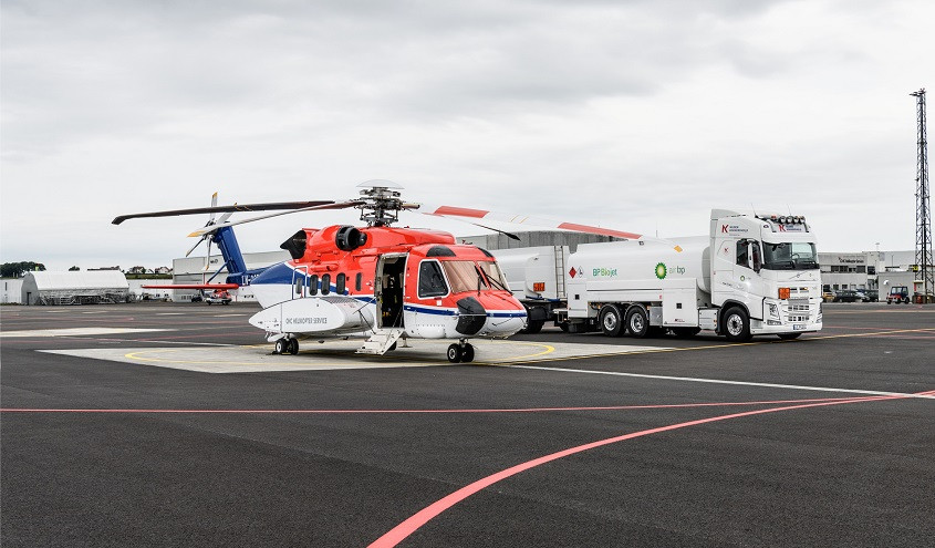 SAF sustainable aviation fuel helicopter