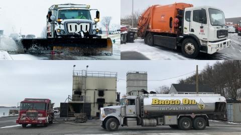 Biodiesel trucks B100 Biobased Diesel