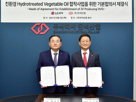 Dansuk Industrial, LG Chem plan JV to build South Korea's 1st HVO plant