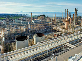 Phillips 66 hits full 120 mgy rate of renewable diesel production in Rodeo, California