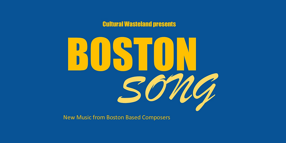 Boston Song: New Music from Boston Based Composers
