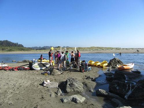 Kayaking on the Little River