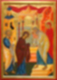 Icône de la fête de la sainte Rencontre