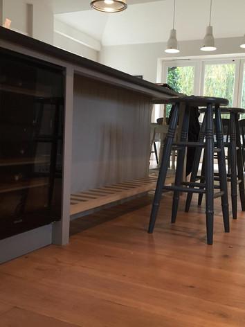 Bespoke handbuilt kitchen