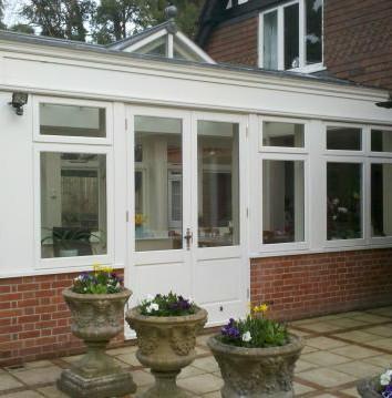 Purpose built conservatory