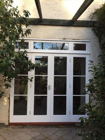 French Doors with side lights