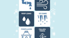 The Most Common Winter issues for your home are . . .