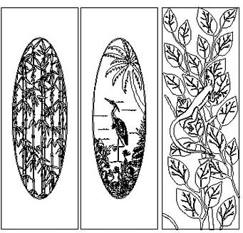 Glass textures