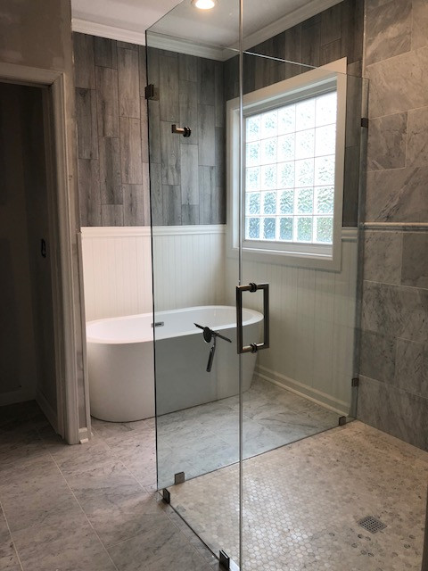 shower door by glass innovations