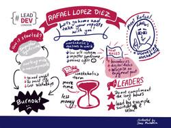 LeadDev London Rafael Lopez Diez by Shaz