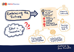 EUSA Room 7 Session 1 - illustrated by S