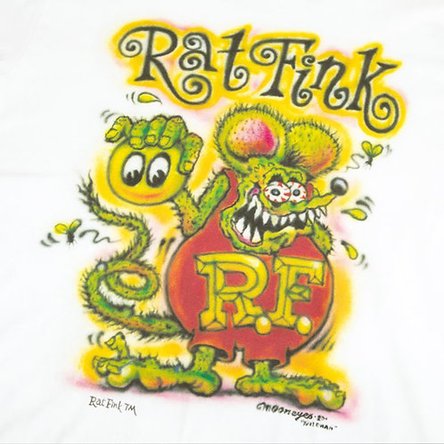 TSHIRT RAT FINK MOONEYES RATFINK MR WILDMAN AIRBRUSH