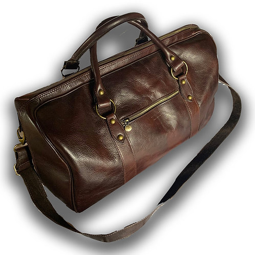 DOCTOR BAG VINTAGE RETRO STYLE LUXURY LETHER BROWN