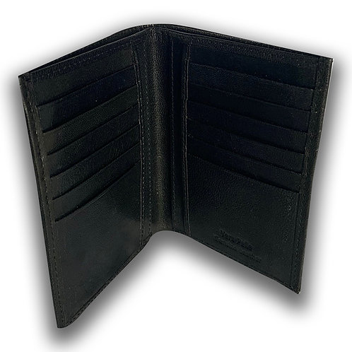 WALLET LETHER BLACK PASSION GARAGE