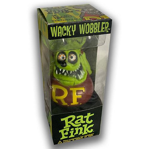 RAT FINK WACKY WOBBLER RATFINK ED ROTH CLASSIC GREEN