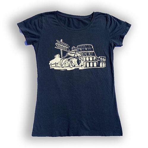 Tshirt Passion Garage Darren McKeag Design beetle colosseum women