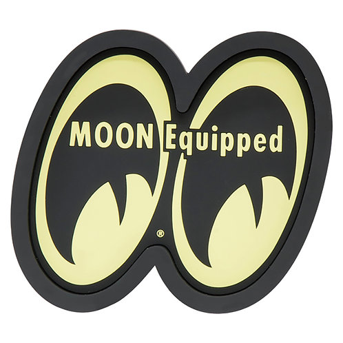 MOONEYES MOON Equipped Rubber Tray KEY CHAIN KEY RING