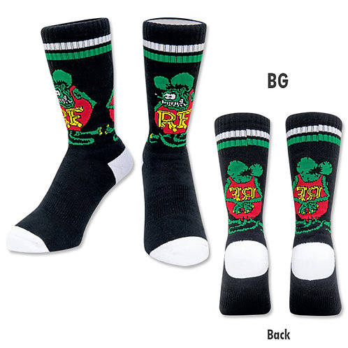 RATFINK SOCKS RAT FINK Standing Socks