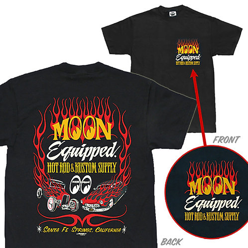 TSHIRT MOONEYES MOON Equipped HOT ROD & KUSTOM SUPPLY MR WILDMAN