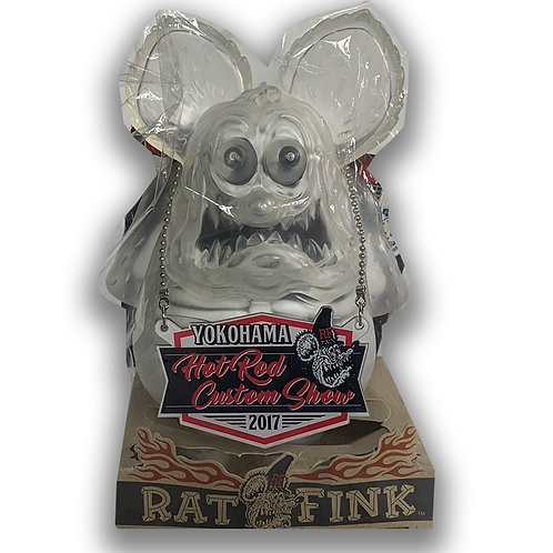 RAT FINK XRAY RATFINK HOTROD CUSTOM SHOW YOKOHAMA ONLY FOR JAPAN MOONEYES CLEAR