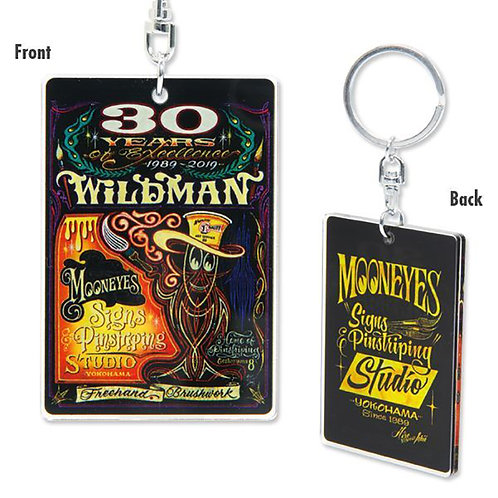 "KEY CHAIN KEY RING SPECIAL EDITION Hiro ""Wildman"" Ishii 30th Anniversary"