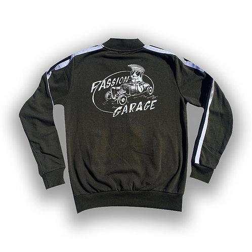 Passion Garage Jacket Hoodies Slim Fit Darren McKeag Design