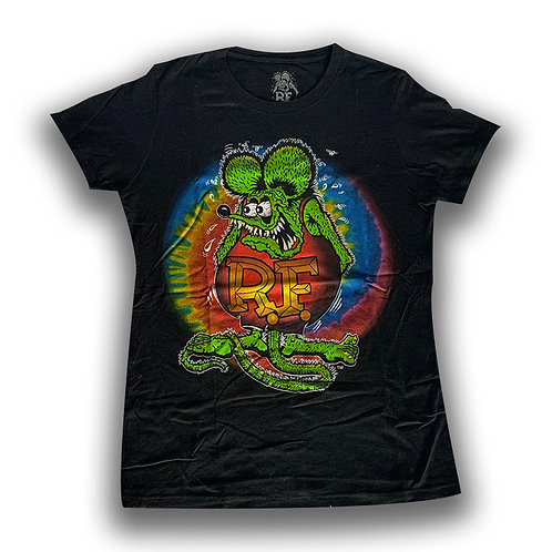 TSHIRT RAT FINK FOR WOMEN RATFINK MOONEYES