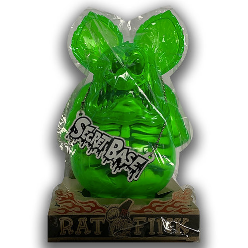 RAT FINK XRAY RATFINK HOTROD CUSTOM SHOW YOKOHAMA ONLY FOR JAPAN MOONEYES GREEN