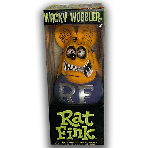 RAT FINK WACKY WOBBLER RATFINK ED ROTH PURPLE YELLOW