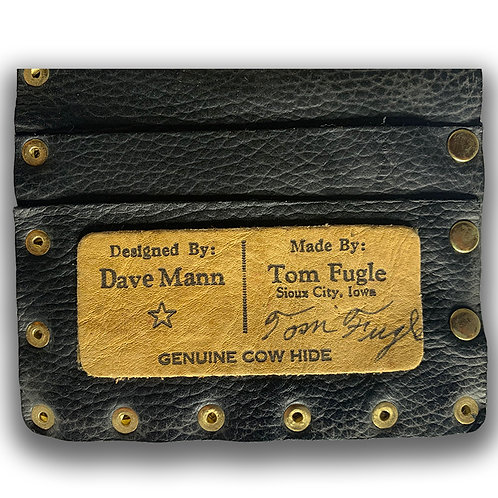 TOM FUGLE WALLET LETHER HANDMADE ONE OF THE LAST PRODUCTS