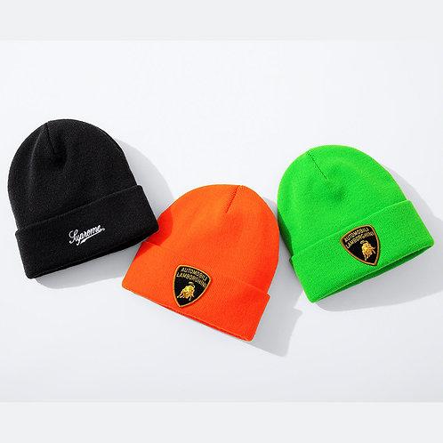Hats Beanie Supreme Lamborghini