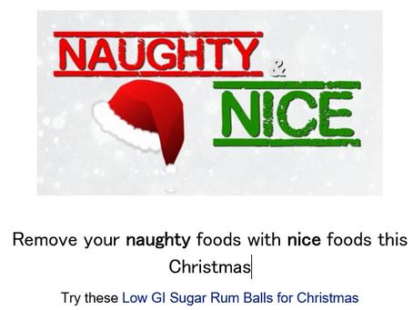 Choose Nice not Naughty
