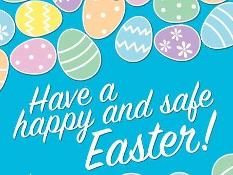 Enjoy your Easter break