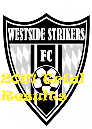 2021 Westside Strikers Trial Results