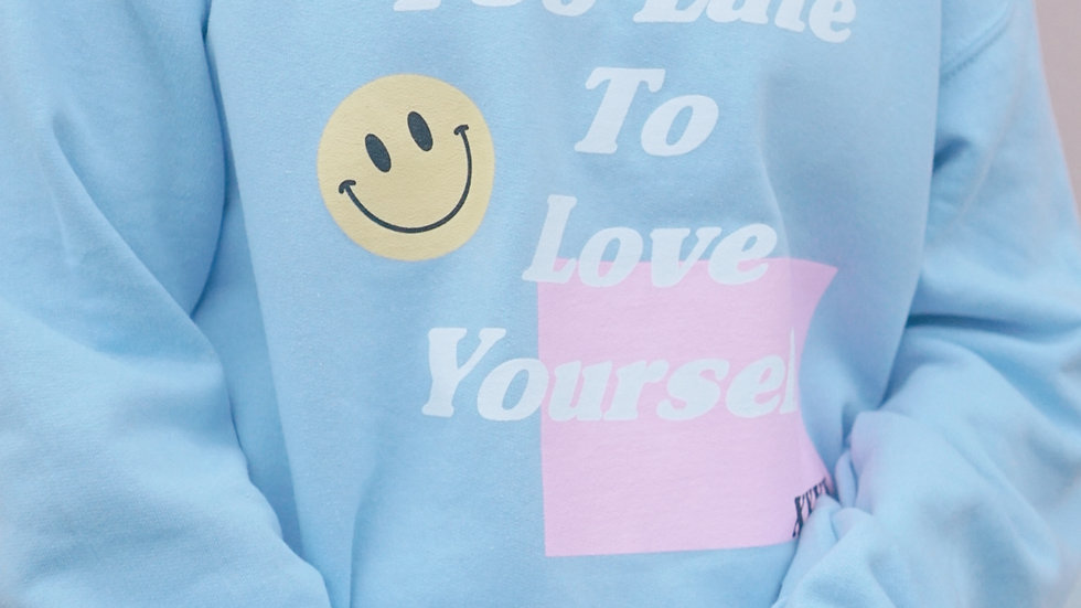 It's Never Too Late Crewneck