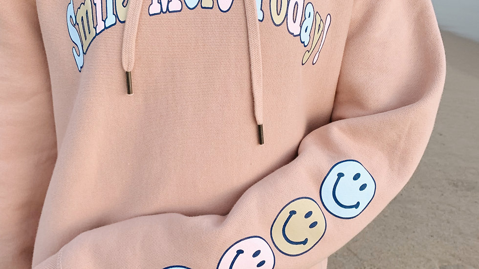 Smile More Today Hoodie