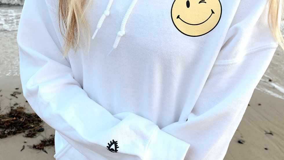 Have You Loved You Today? White Hoodie