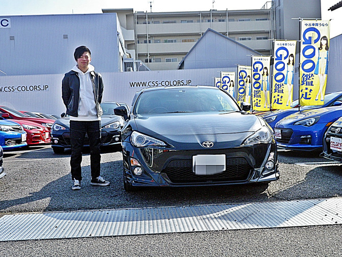 M様 トヨタ 86 納車!!