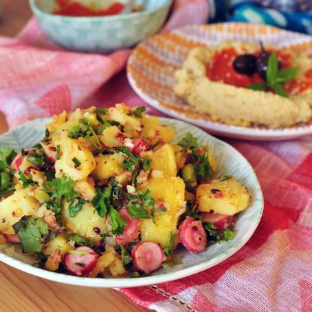 Rezeptinspiration: Kleines türkisches Dinner, Snacks zum wohlfühlen – Inspiration