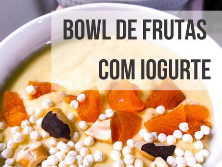 Bowl de Iogurte com Frutas