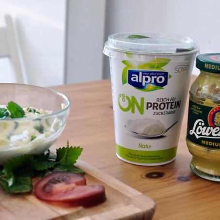 Joghurt-Quark-Dipp Vegan (Werbung)