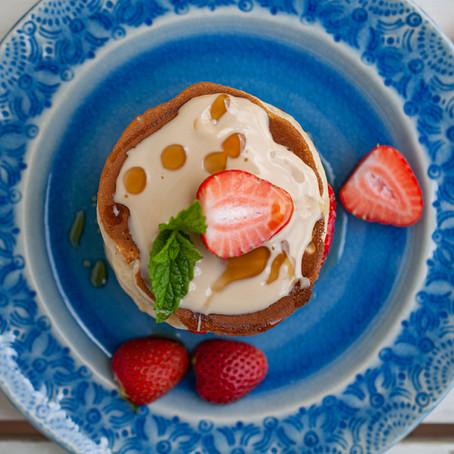 das beste pancake-rezept / ölfrei