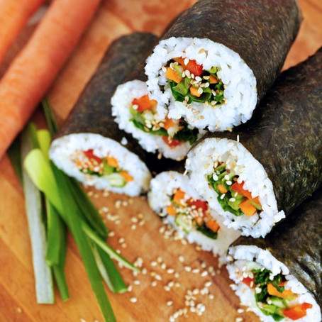 Sushi – als Burrito