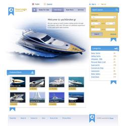 Шаблон для Flynax Boat